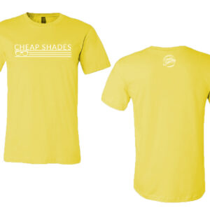 DN Cheap Shades Tee – Pale Yellow